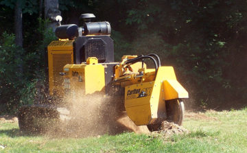 Carlton Stump Cutters - Saunders Equipment