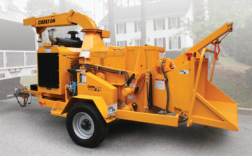 2518 Drum Chipper - Saunders Equipment