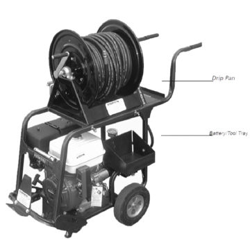 O'Brien Cart Hydro-Jetter - 2500 Series. These user-friendly models are geared for residential and commercial sewer lines up to 8″ in diameter.