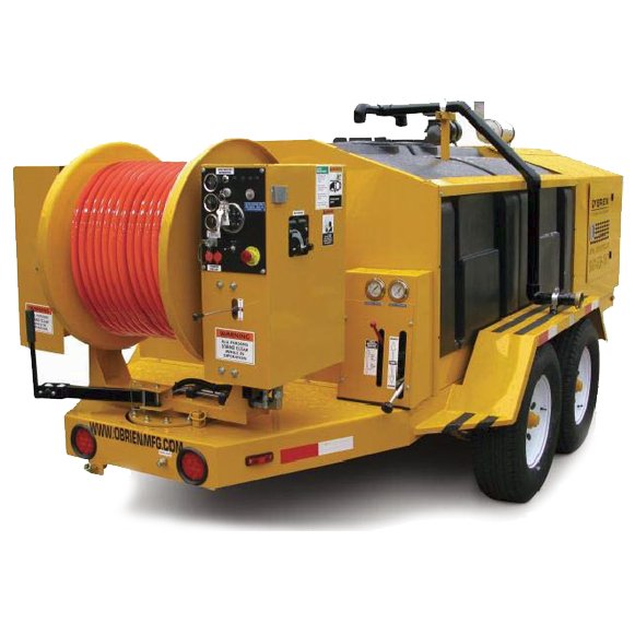 O'Brien 7040-SC Hydro Jetter. Designed for daily operation by professional sewer line cleaners, the O'Brien 7040-SC Hydro Jetter carries 750 gallons ...