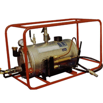 Steam Johnny is a propane gas-fired high pressure boiler for thawing road culverts and drains, water supply and sewer pipes, gutters and rainwater pipes ...