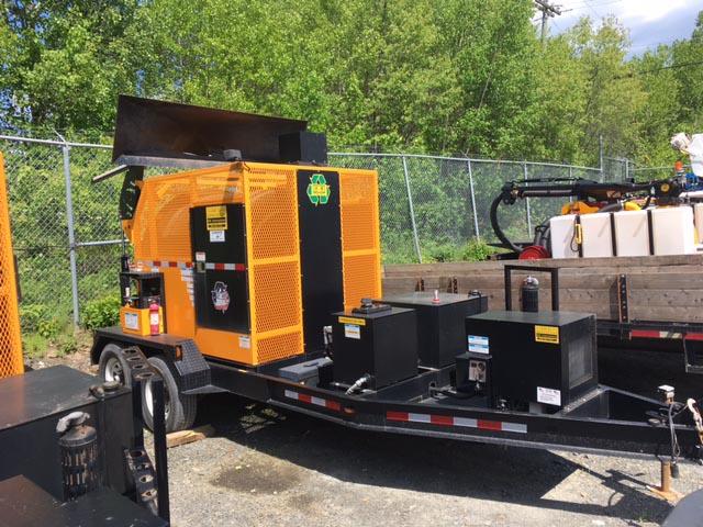 KM T-2 M Asphalt Recycler