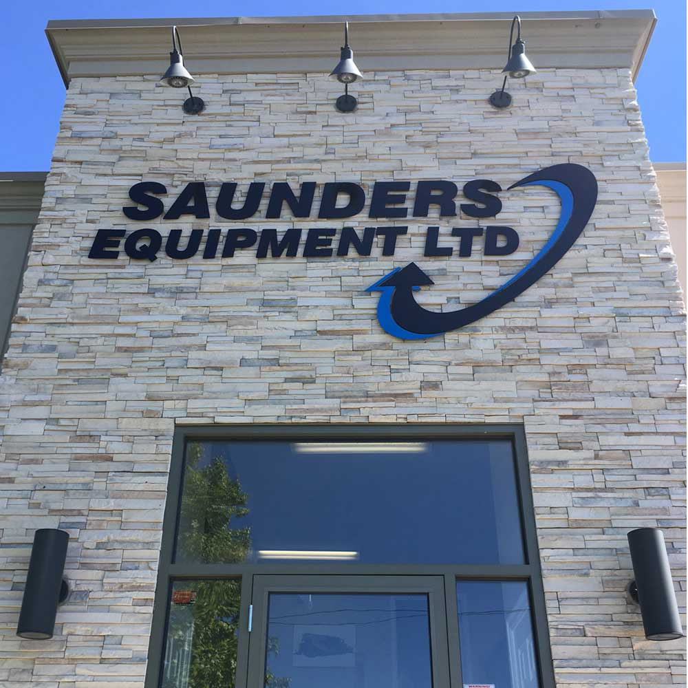 Saunders Equipment Facility Fredericton NB