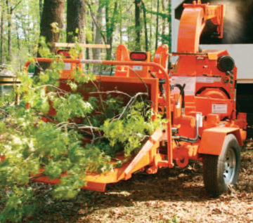 Carlton 1790 Disk Chipper - Saunders Equipment