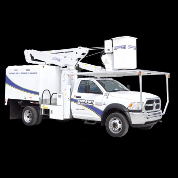 Duralift Urban Forestry Unit lightweight and maneuverable - Saunders Equipment