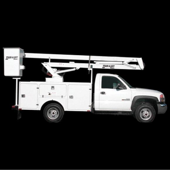 Duralift DFSL 32/36 - Aerial Telescopic Articulating Lift - Saunders Equipment