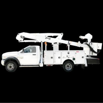 Duralift DPM2 36-40-47-52 - Aerial Telescopic Articulating Devices - Saunders Equipment