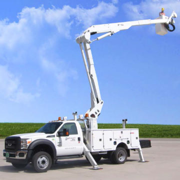Duralift DPM 47-52 - Aerial Telescopic Articulating Devices - Saunders Equipment