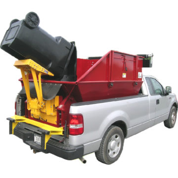 Easy Dump, Designed for hauling trash, ground cover, and yard waste in restricted areas - Saunders Equipment