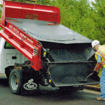 Hot Patch Truck & Trailer Insert - Saunders Equipment