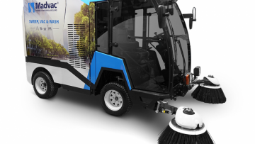 Madvac LS175 Compact Sweeper