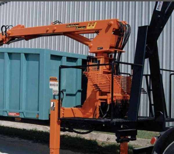 The model HL-3 is a loader and body that can be used on a hooklift truck. Adds new capabilities to your truck without having to dedicate it full-time.