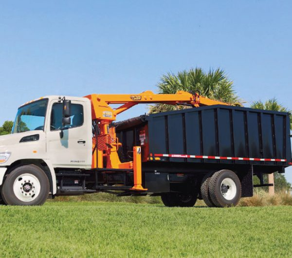 Petersen TBH. Both our TBS and TBH bodies are built to withstand heavy use, so you can haul brush, concrete, or even cars without a second thought.
