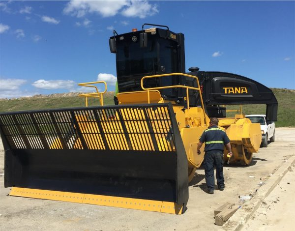 Tana Landfill Compactors - Saunders Equipment