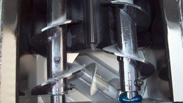 Asphalt Patcher – Dual Auger Conveyor