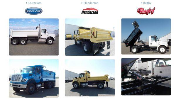 PB Dump Truck Bodies - Saunders Equipment