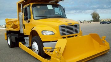 PB Conventional Frame Truck Mounted Loader - Saunders Equipment